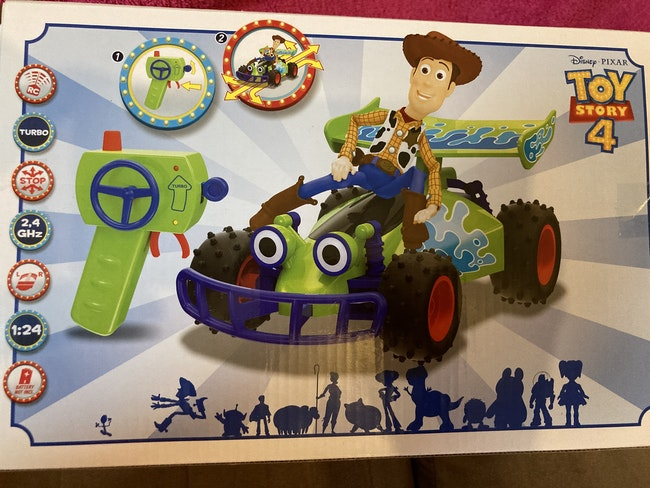 Buggy radiocommandé Woody