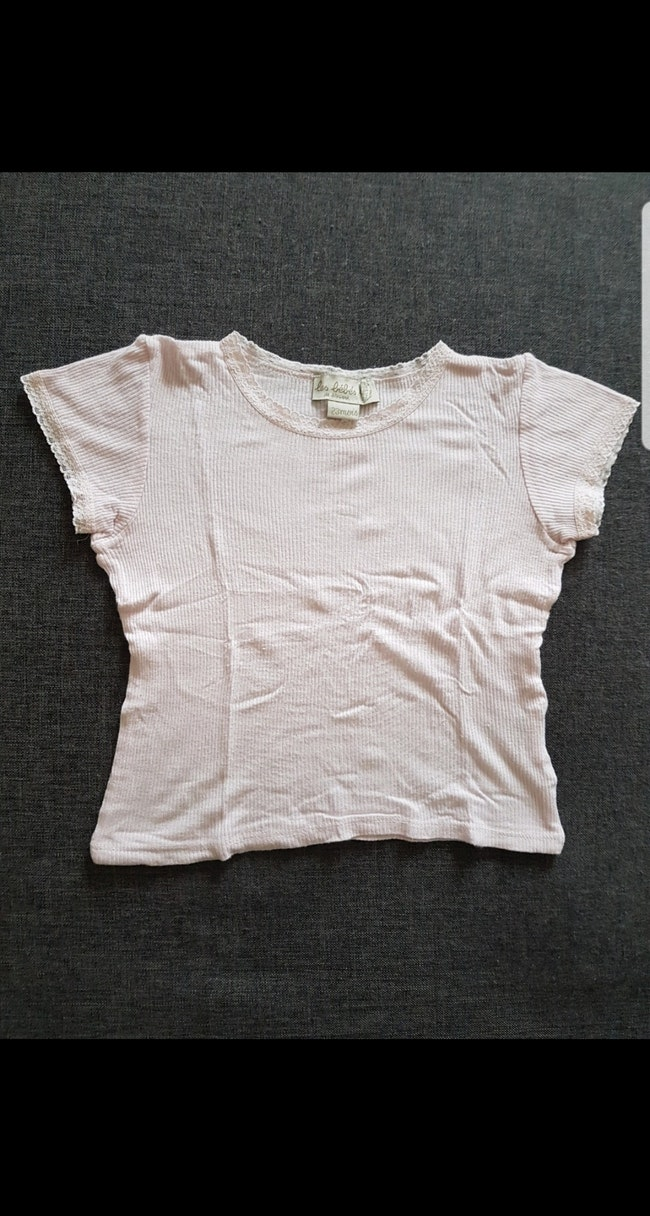 Tee-shirt manches courtes fille 23 mois