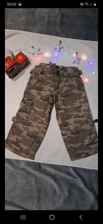 Pantalon style militaire 2 ans