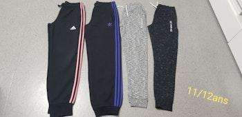 Lot pantalons joggings/survêtements