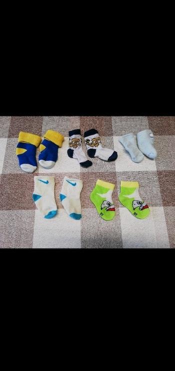 Lot 5 paires de chaussettes 0/3 mois