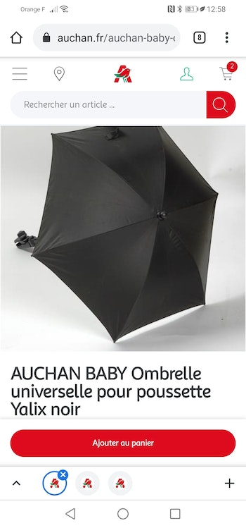 Ombrelle universelle