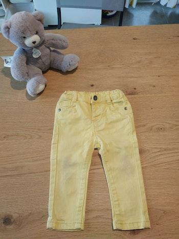Pantalon jaune 9 mois