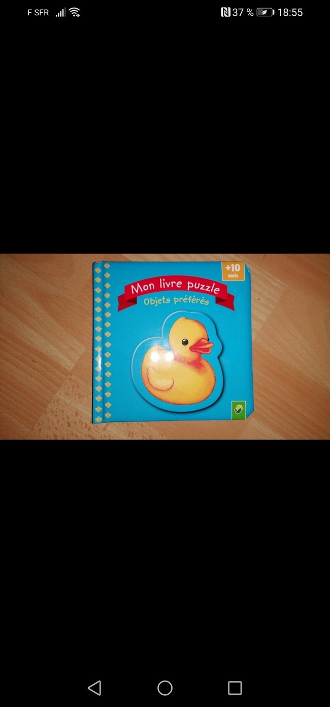 Mon livre puzzle neuf