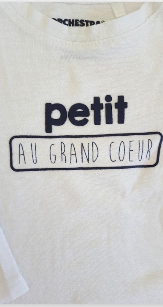 T-shirt 12mois