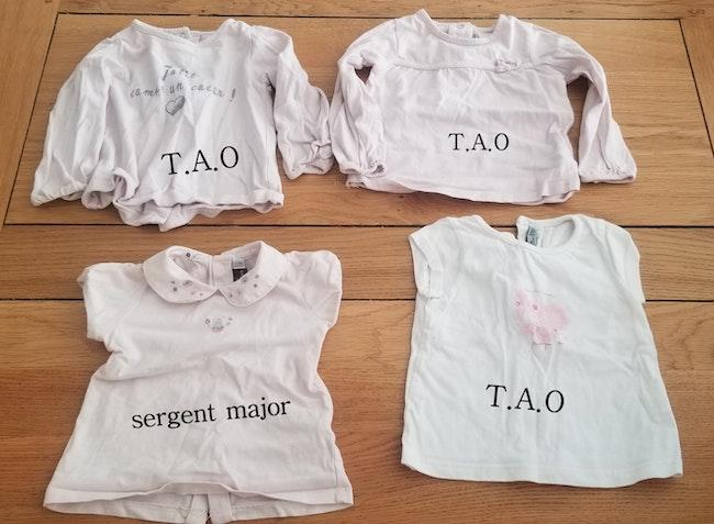 Lot 5 tee-shirts