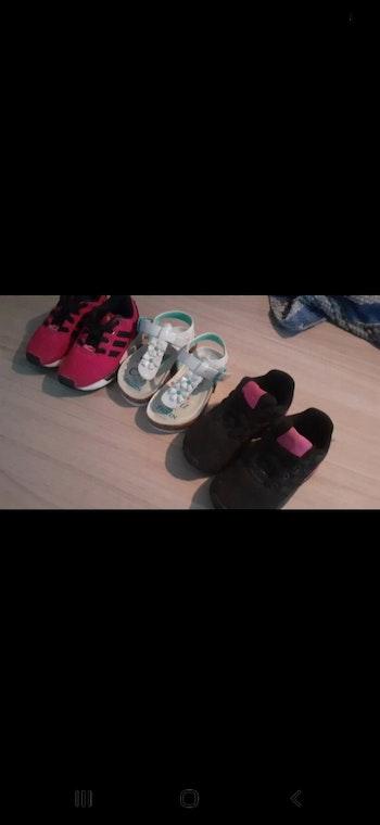 Basket et chaussure