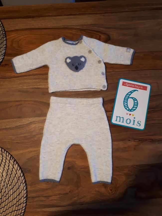 Ensemble bébé garçon 6 mois