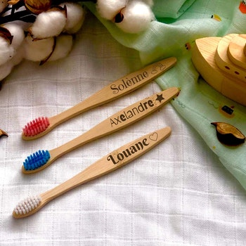 Brosse à dents personnalisée ENFANTS