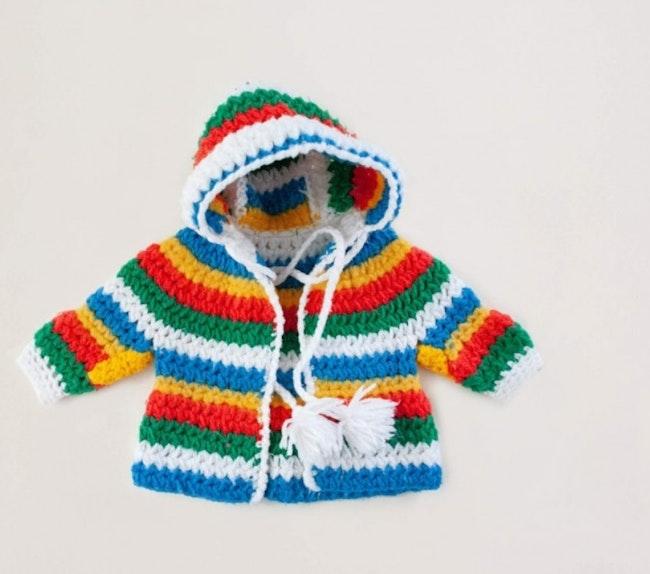 Gilet en tricot épais