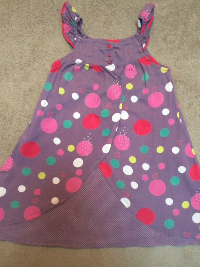 Robe Lisa Rose 6 ans