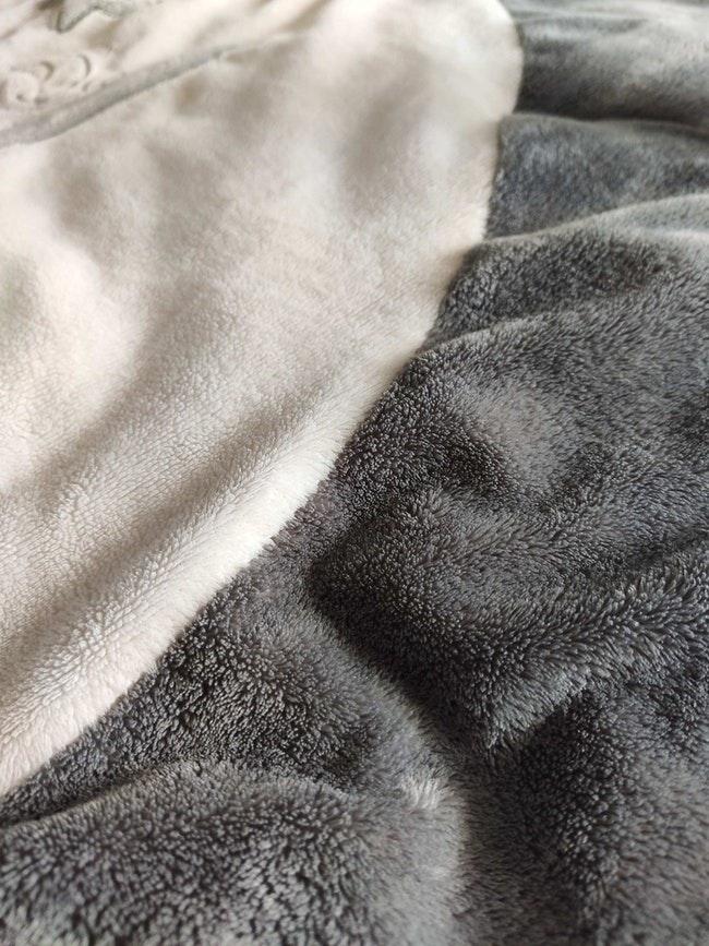 Tapis d'éveil noukie's gris et creme