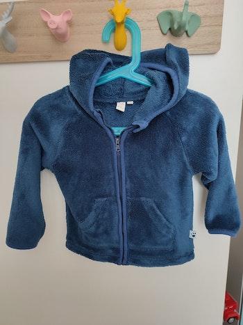 Gilet zippé bébé garçon 18 mois