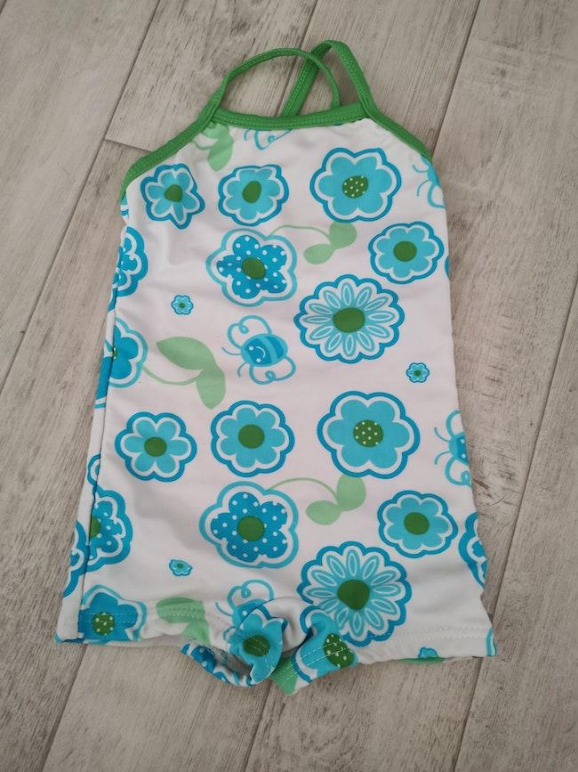 Maillot de bain short beachwear 23 mois bleu
