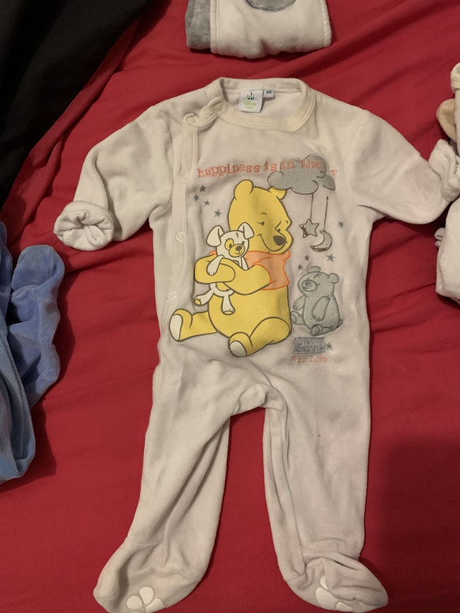 Lot pyjama Winnie l'ourson