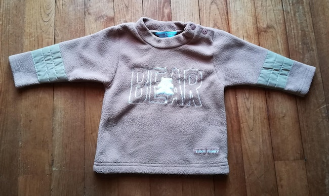 Pull polaire 12 mois