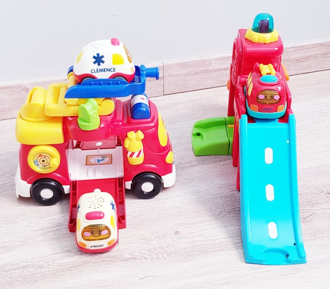 🚒 Tut tut bolides - Au feu les pompiers + Mon super camion de pompier - Vtech 🚒