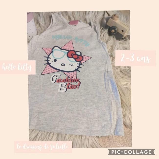 Robe hello kitty 2_3 ans