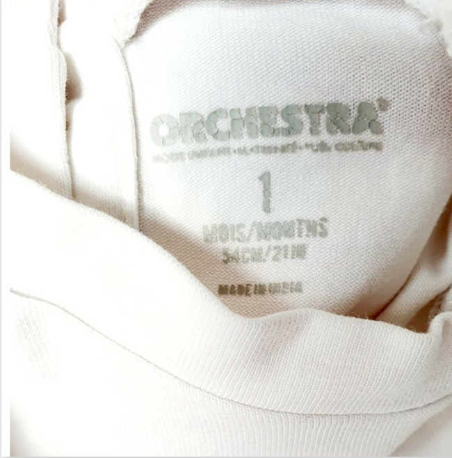 T-shirt 1 mois Orchestra