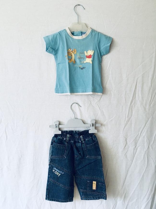 Ensemble t-shirt et pantalon Winnie et Tigrou