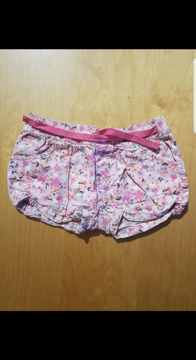 Short enfant fille 2-3 ans