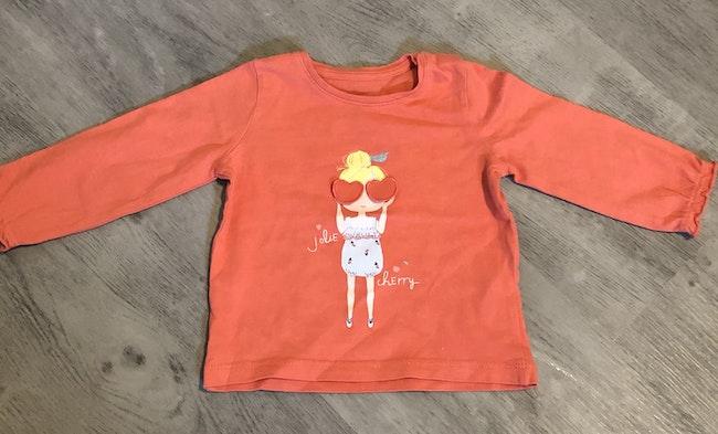 Tee-shirt manche longue bébé fille