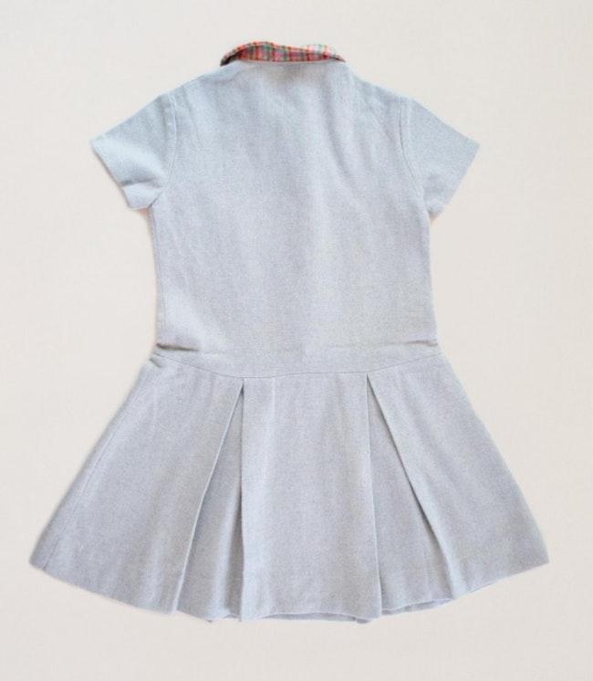 Robe en laine sixties