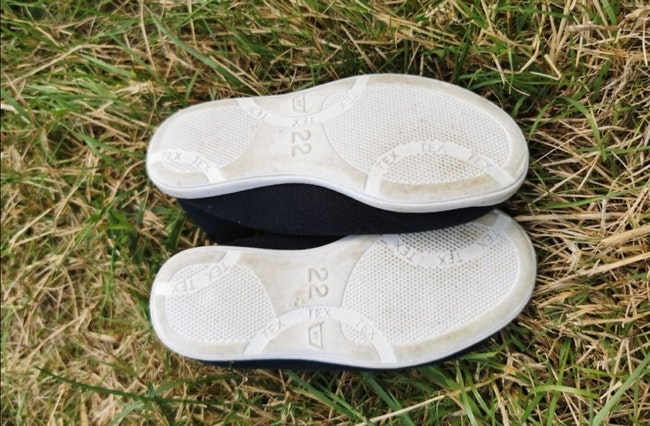 Chaussons de gym taille 22