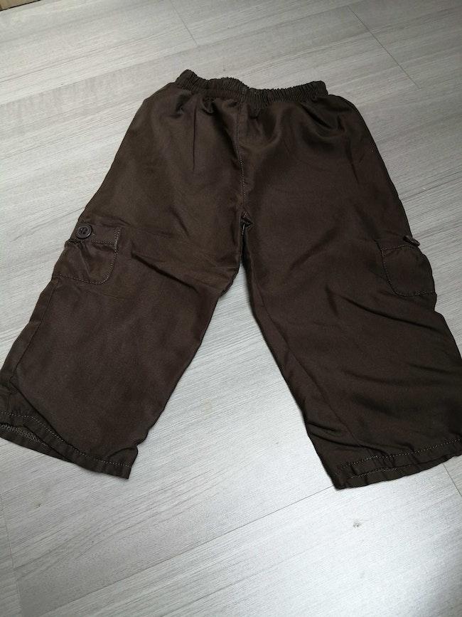 Pantalon marron 24 mois