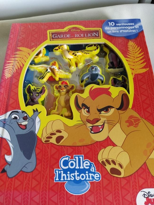 Livre Roi Lion ventouses