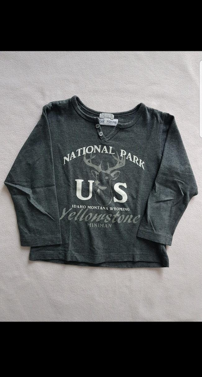 Tee-shirt ML enfant garçon 5 ans