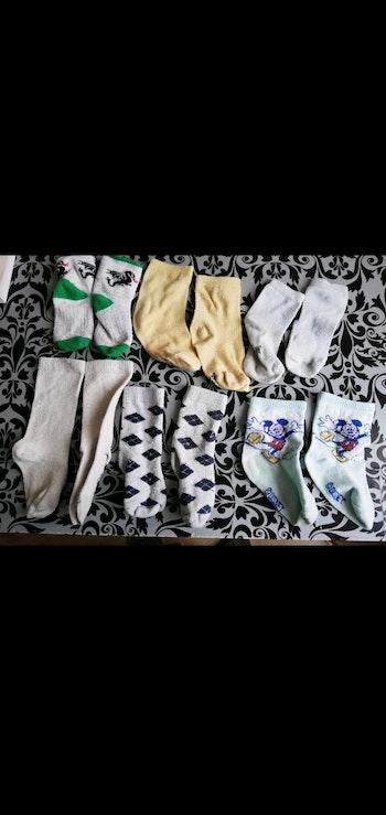 Lot taille 21/23 6 paires de chaussettes