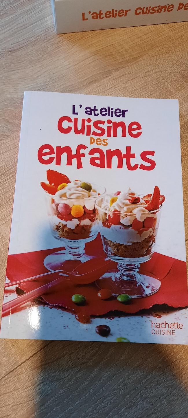 Coffret cuisine enfants + livre