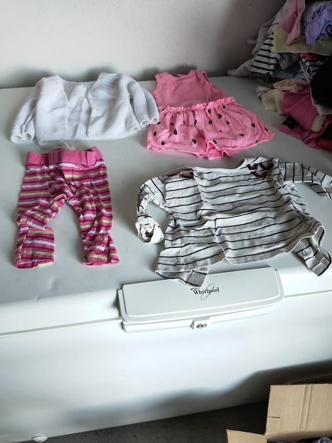Vêtement fille de 1 A 3 mois