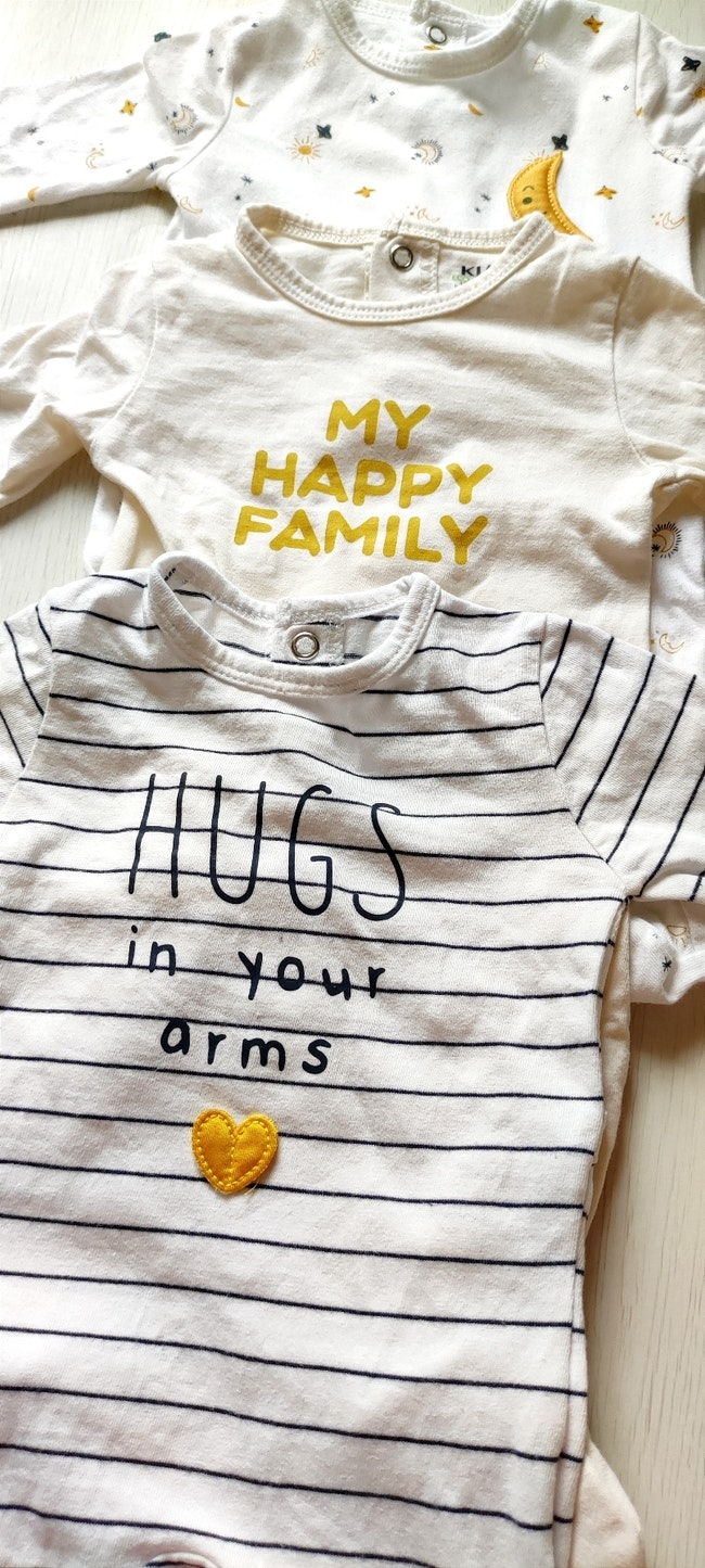 Lot de 3 pyjamas coton