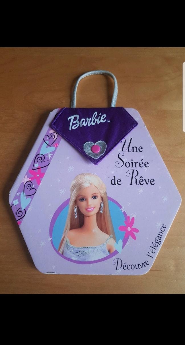 Livre enfant fille Barbie : Une Soirée de Rêve
