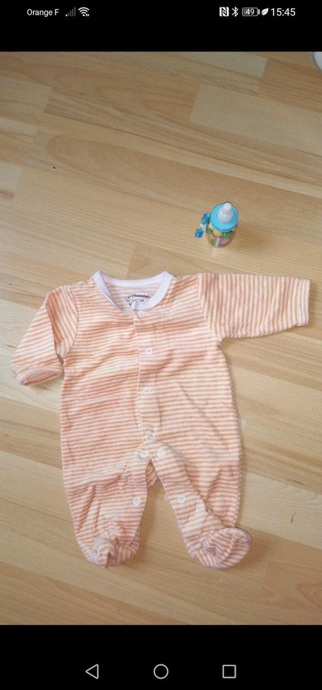 Pyjama velour naissant