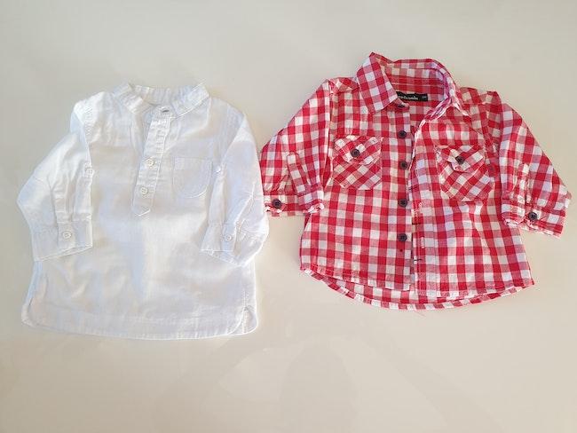 Chemises 3 mois