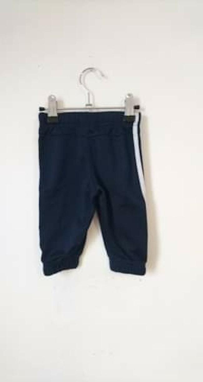 Bas de jogging bleu marine Adidas 3/6 mois