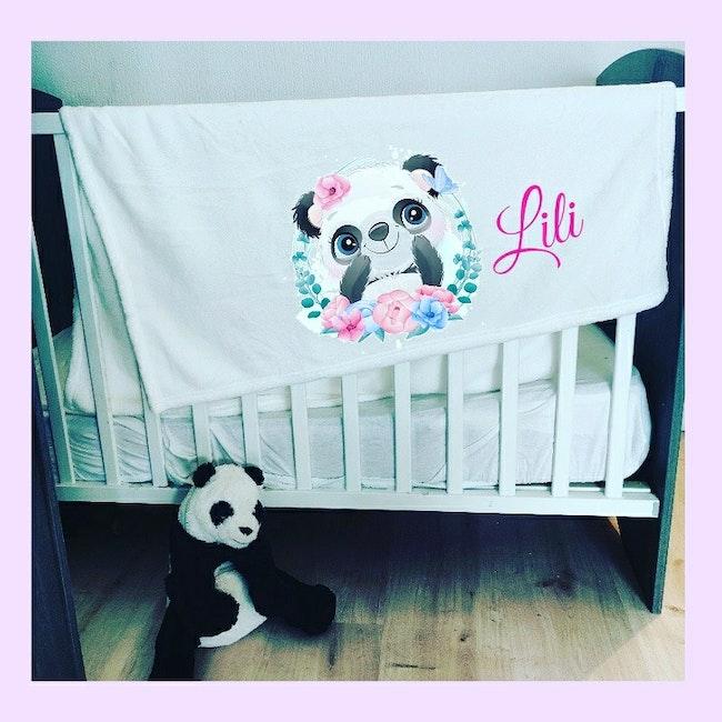Plaid bébé personnalisé