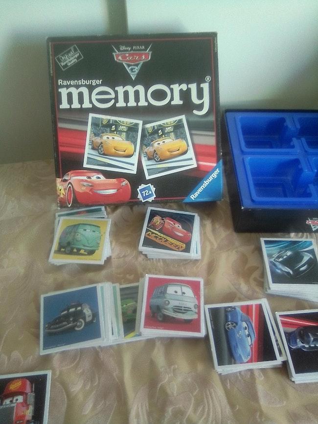 Jeu memory Cars