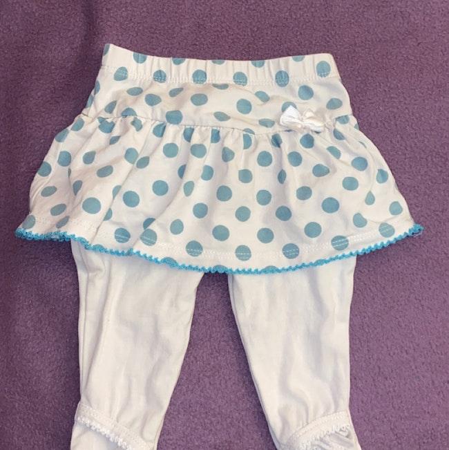 Leggings avec jupe intégré