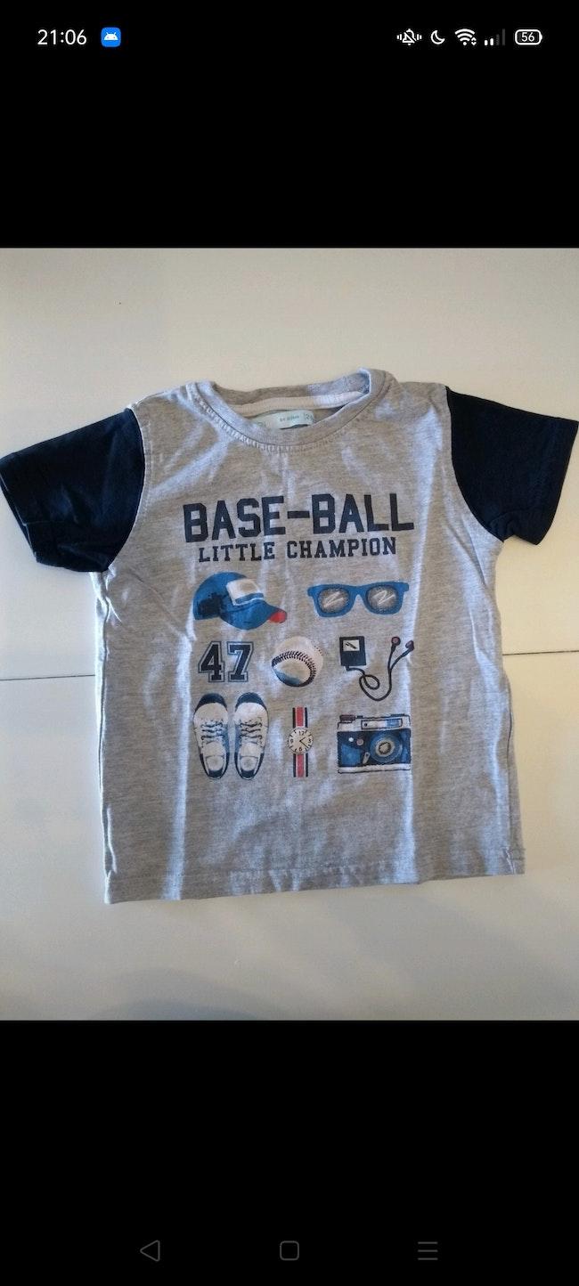 T-shirt mc 24 mois