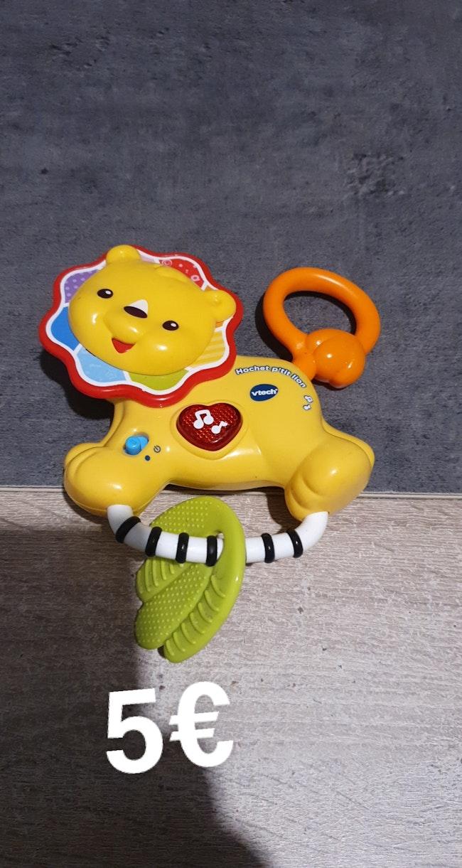 Hochet p'tit lion
