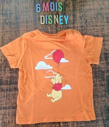 Tee-shirt Winnie l'ourson 6 mois