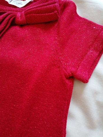 Robe paillettes rouge H&M 2ans tbe