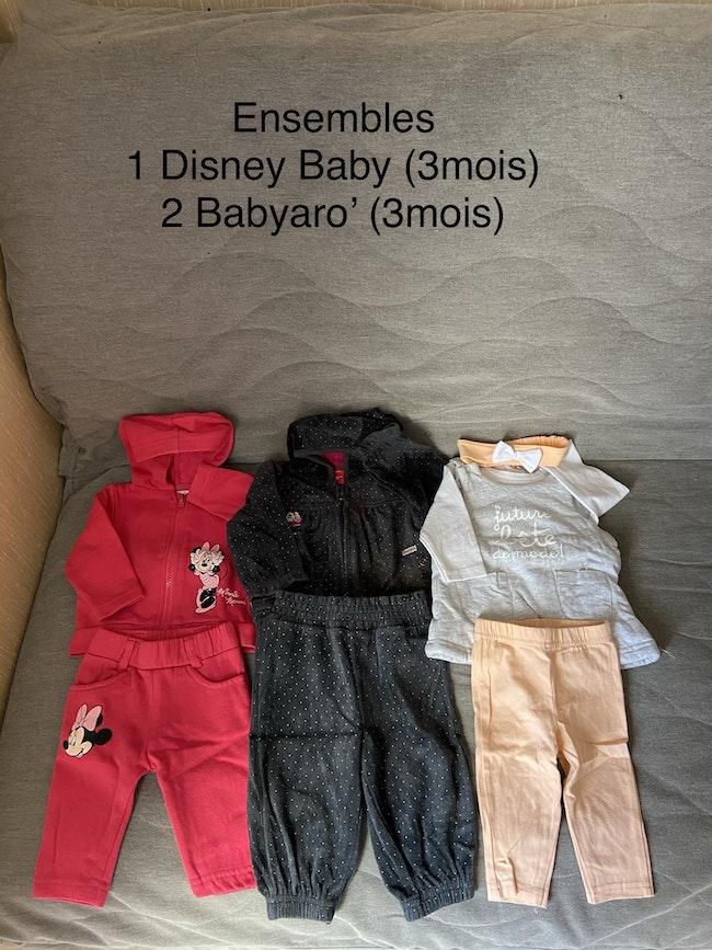 Vêtements 3mois hiver