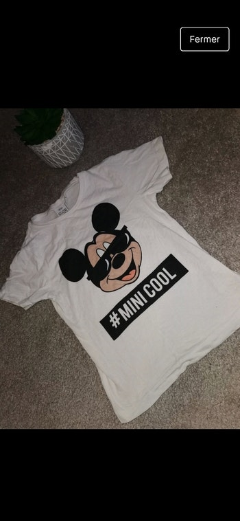 T-shirt Disney 6ans