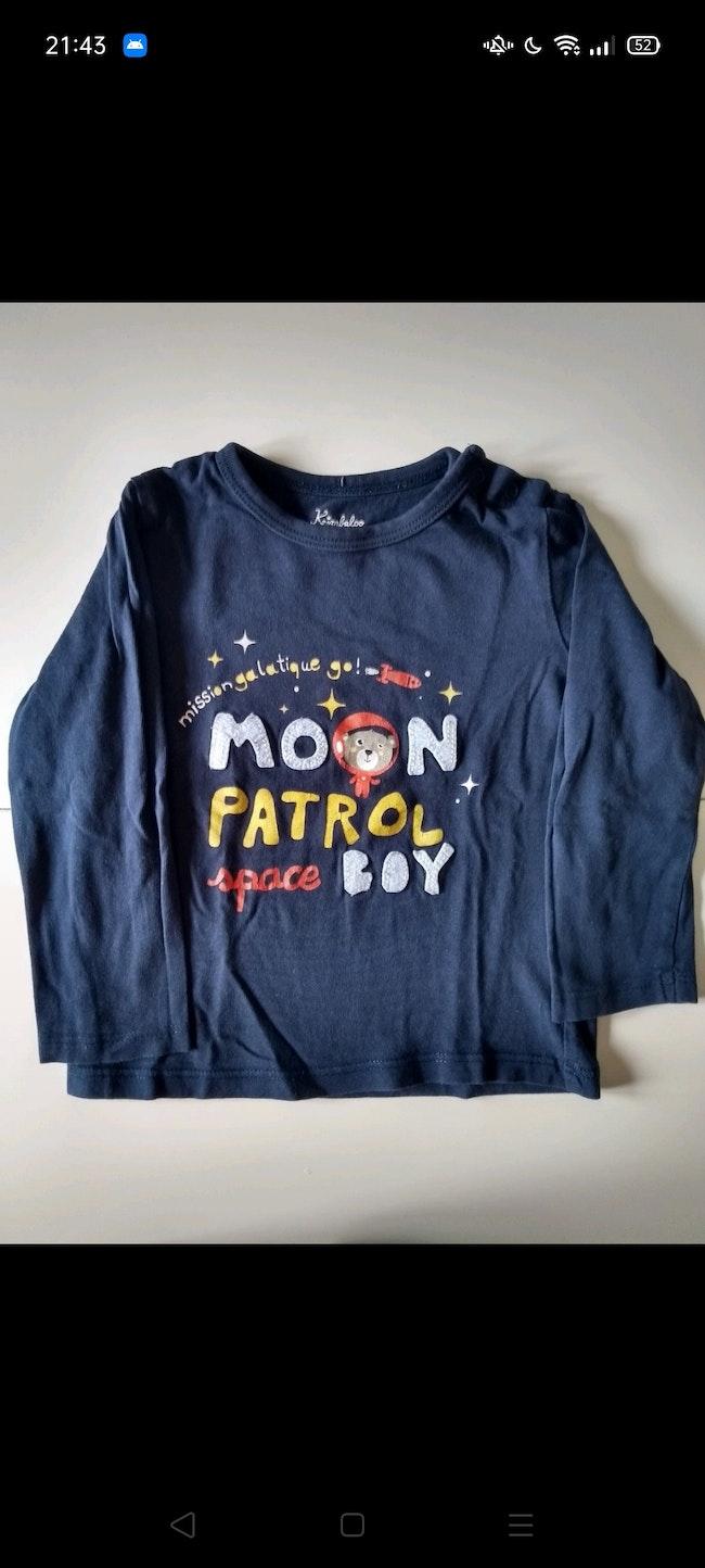 T-shirt ml 24 mois