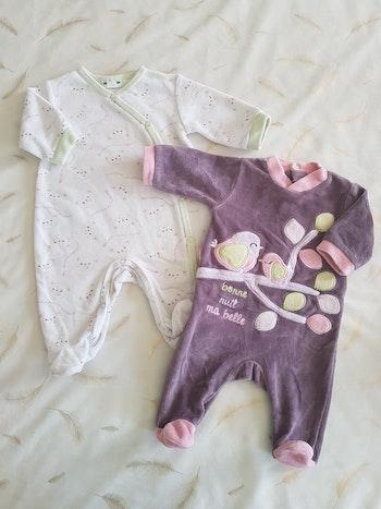 Lot pyjamas 1M